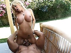 Stunning tgirl Kimber James doing 69 with Robert