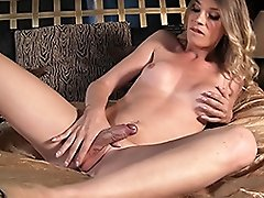 Hot Angelina spreads her ass