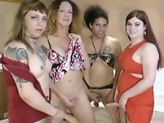 Nikki's Hot Massive T Orgy will Boil Your Balls!