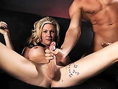 Big dick Morgan blows & fucks a guy